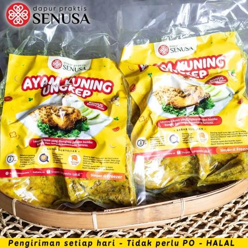 Foto Produk Ayam Goreng Bumbu Kuning Empuk (Asin/ Gurih) – 10 Potong dari Dapur Praktis Jakarta