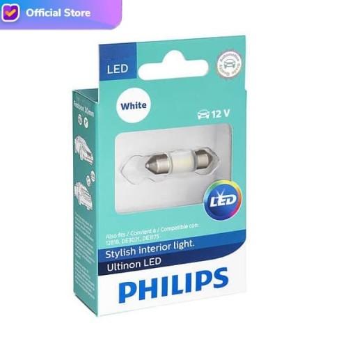 Foto Produk Philips Ultinon LED Festoon Lampu Interior Plafon Kabin Putih dari Depo Oto