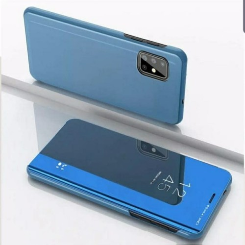 Foto Produk Oppo A52 A72 A92 Flip Cover Mirror Clear View Wallet Casing Dompet dari sense accessories