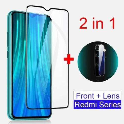 Foto Produk Tempered Glass Redmi 9 Paket Pelindung Layar dan Kamera Belakang dari AstoriaStore