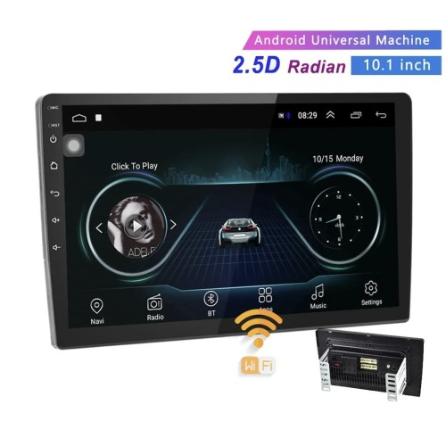"Foto Produk Head Unit Car Multimedia Player 10"" Android 8.1 Oreo Wifi GPS BT. 4.2 dari BONIASTORE"
