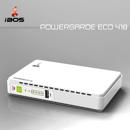 Foto Produk IBOS UPS DC PowerGarde ECO 418 With POE - Putih dari manekistore