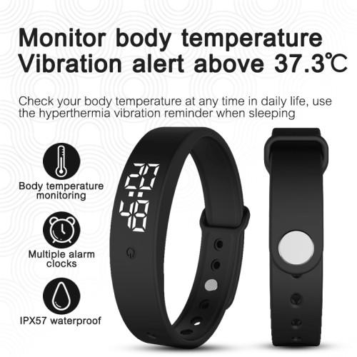Foto Produk Smartband Body Temperature Bracelet Addies Ceh Suhu dari NarendaShop
