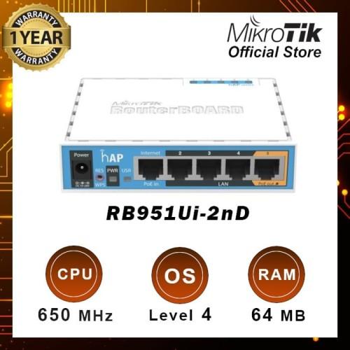 Foto Produk RB951Ui-2ND (hAP) dari MikroTik Official