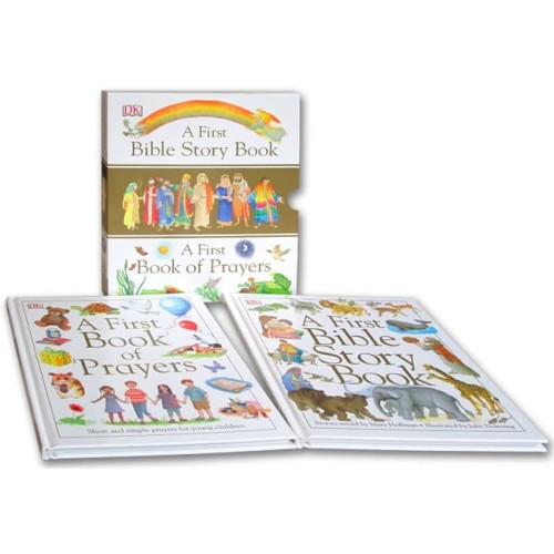 Foto Produk DK A First Bible Story Book & A First Book of Prayers (2 books in one) dari HappyBunnyBooks