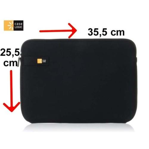 Foto Produk Tas Laptop Case Logic Sarung Softcase Macbook Sleeve 13 inch - black dari ipeka.netmedia
