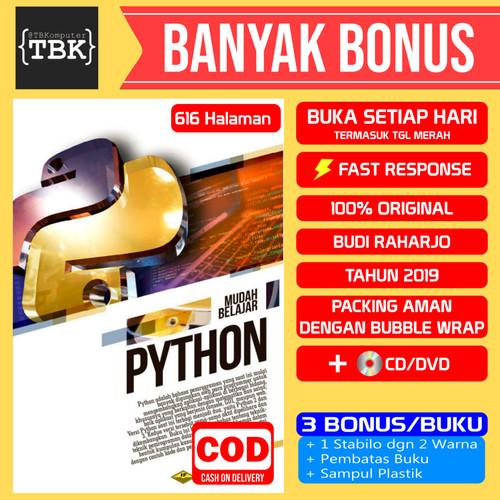 Foto Produk Buku Mudah Belajar Python Untuk Aplikasi Desktop Dan Web +CD dari Toko Buku Komputer BDG