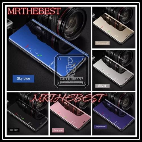 Foto Produk OPPO REALME 3 CLEAR VIEW FLIP COVER HARD CASE STANDING dari MrThebest