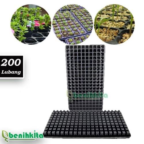 Foto Produk Pot Tray 200 Lubang Tray Semai Benih dari benihkita