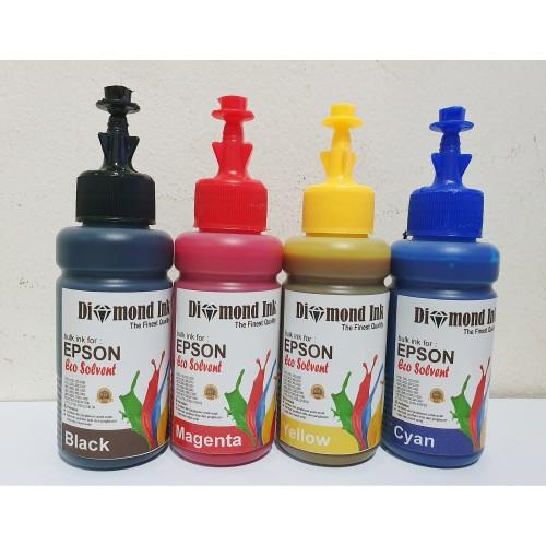Foto Produk Paket Tinta Eco Solvent Diamond Ink For Epson L Series dari Multi Solution