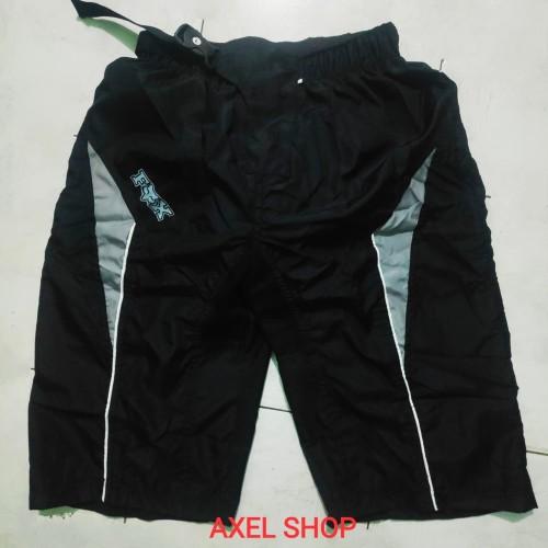 Foto Produk Celana sepeda gunung mtb tidak ketat F O X ABU ABU dari AXEL SHOP