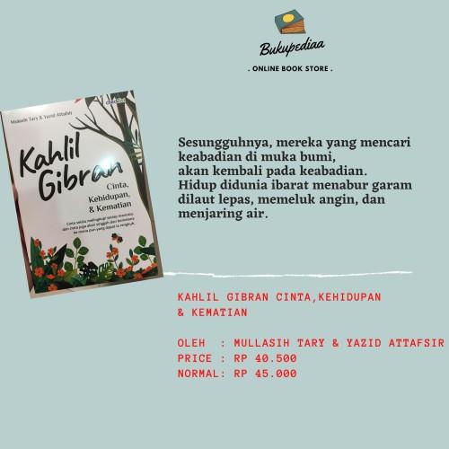 Jual Buku Kumpulan Puisi Kahlil Gibran Mulasih Tary Yazid Attafsir Jakarta Timur Bukupediaa Tokopedia