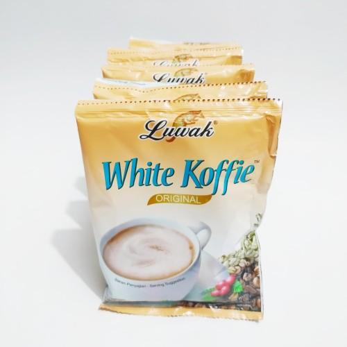 Foto Produk luwak white koffie original 20g. 10sachet dari ded's susu