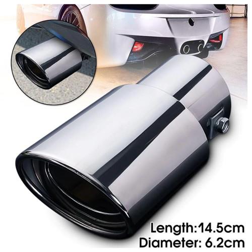 Foto Produk Muffler cutter buntut Cover Dekorasi ujung Knalpot Mobil Universal dari lbagstore