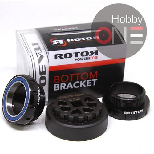 Foto Produk ROTOR BB ITA30 STEEL BLACK Drat Italy Bottom Bracket dari HobbyOne