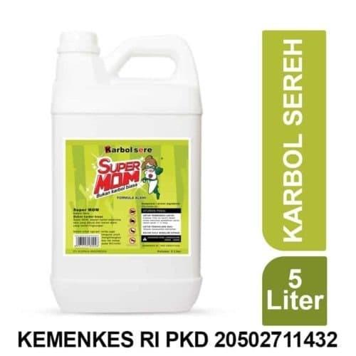 Foto Produk Karbol Sereh Jirigen 5 liter dari Toko Encim