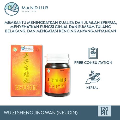 Foto Produk Wu Zi Sheng Jing Wan (Neugin) - Obat Herbal Penyubur Pria dari mandjur