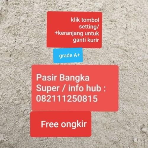 Foto Produk Pasir Bangka Super / pasir bangka asli / JAKARTA Bekasi TANGERANG dari E-HomeSolutions