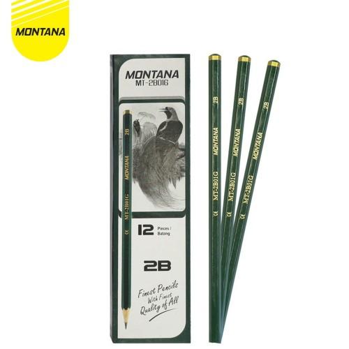 Foto Produk Pencil / Pensil Montana MT2B01-G / 2B dari MONTANA ID