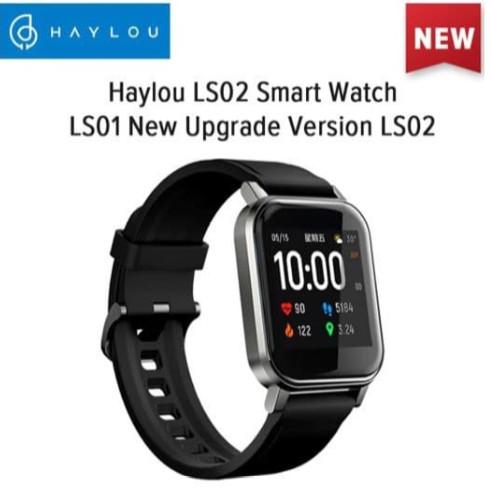 Foto Produk Haylou LS02 1.4 inch TFT Screen Smart Watch Bluetooth Global Version - Hitam dari Haylou official store