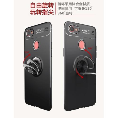 Foto Produk Oppo F5 fingerprint iRing Invisible TPU Soft Case dari importking