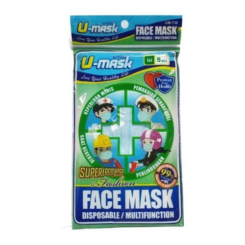 Foto Produk Fit-U Earloop Mask 5s dari Watsons Indonesia