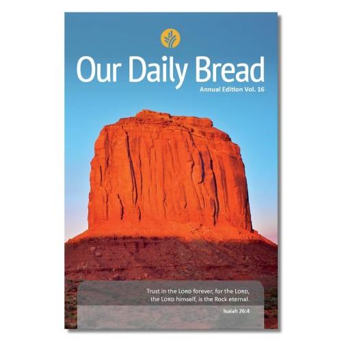 Foto Produk Buku Renungan Rohani Kristen - Our Daily Bread Vol. 16 dari Duta Harapan Dunia