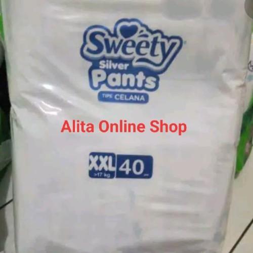 Foto Produk Sweety Silver Pants XXL40 XXL 40 dari Alita Online Shop