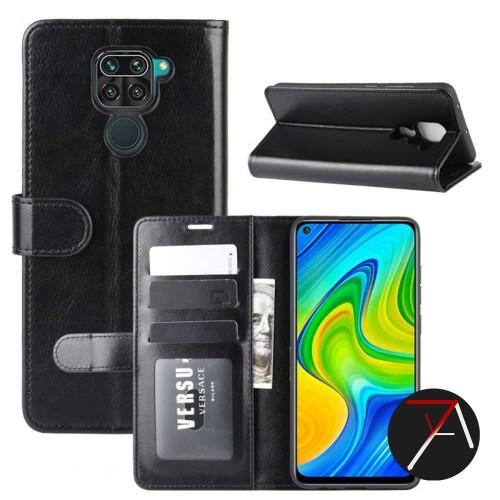 Foto Produk Xiaomi Redmi Note9 Note 9 Flip Wallet Dompet Kulit Leather Cover Case dari 17 Agustus