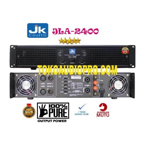 Foto Produk jk coustic jla2400 jla-2400 jla 2400 power amplifier dari tokoaudioprocom