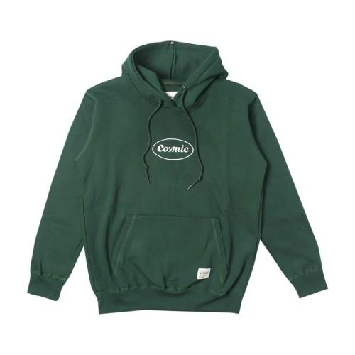 Foto Produk COSMIC Sweater Hoodie Pullover LUVIO GREEN - S dari COSMICCLOTHES