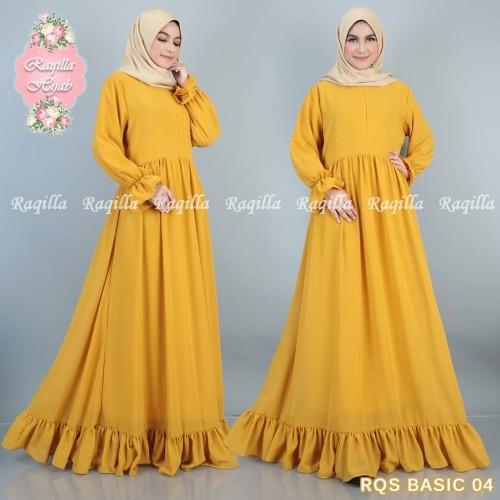 Jual Gamis Remaja Terbaru 2020 Pakaian Wanita Dress Muslim Gamis Syari Hitam Jakarta Selatan Raqillahijab Tokopedia