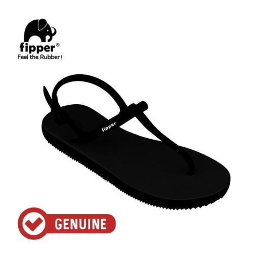 Foto Produk Fipper Strappy / Sandal Jepit Tali Wanita / Black - Black - 36 dari Fipper Indonesia