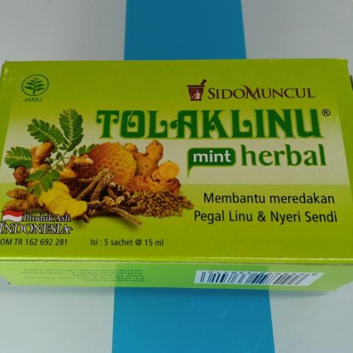 Foto Produk sidomuncul tolaklinu mint herbal 5sachetx15ml dari Raja 999