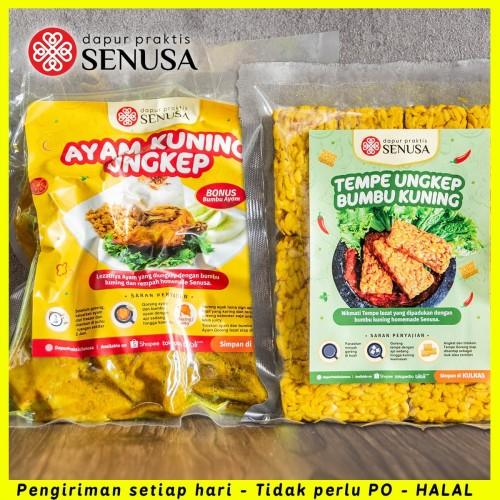 Foto Produk PAKET AYAM UNGKEP KUNING (5 pcs) + TEMPE UNGKEP KUNING GORENG (10 Pcs) dari Dapur Praktis Jakarta