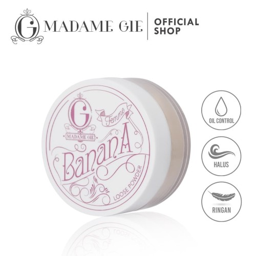 Foto Produk Madame Gie Femme Banana Loose Powder - Lima dari Madame Gie Official
