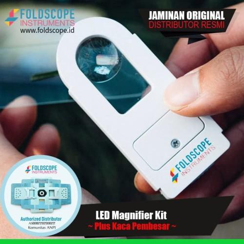 Foto Produk LED Magnifier Kit - Penerang dan Kaca Pembesar Foldscope dari foldscope Id