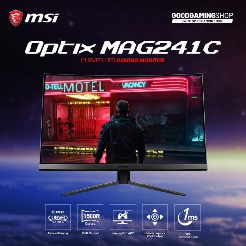 Foto Produk MSI Optix-MAG241C CURVE 144HZ GAMING MONITOR dari GOODGAMINGM2M