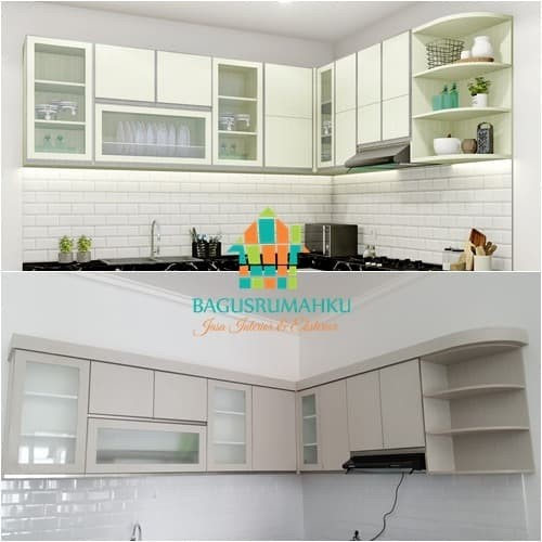 Jual Pembuatan Kabinet Atas Kitchen Bahan Multiplek Model Menyesuaikan Kab Purwakarta Bagusrumahku Tokopedia
