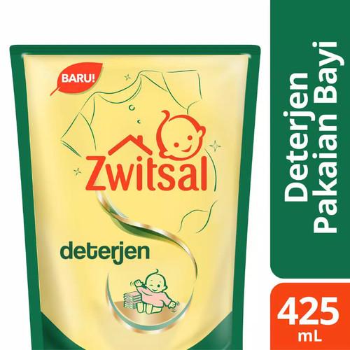 Foto Produk Zwitsal Baby Fabric Detergent 425ml Deterjen Pembersih Pakaian Bayi dari Nic Shop