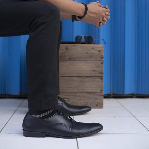 Foto Produk PAULMAY Sepatu Formal Pria Madrid 94 - Hitam, 40 dari Paulmay