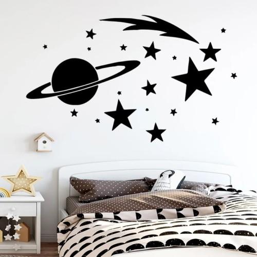 Jual Stiker Dekorasi Hiasan Kamar Anak Wall Sticker Dinding Murah 01 Planet Kota Semarang Homes Sticker Tokopedia