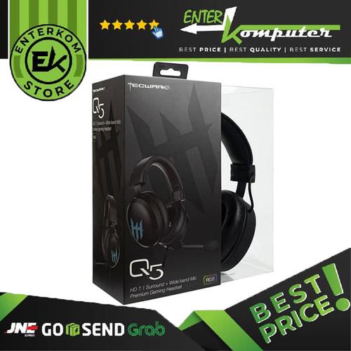 Foto Produk Tecware Q5 HD 7.1 Surround Gaming Headset dari Enter Komputer Official