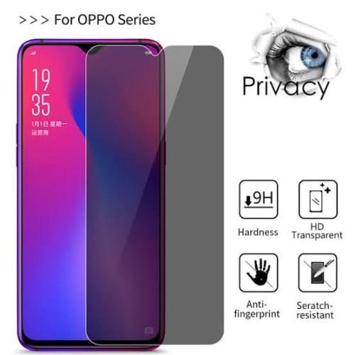 Foto Produk ANTI GORES TEMPERED GLASS ANTI SPY PRIVACY OPPO A91 dari Platinum mobile phone