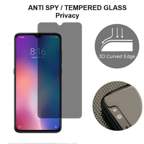 Foto Produk ANTI GORES TEMPERGLASS TEMPERED GLASS ANTI SPY PRIVACY XIAOMI REDMI 8A dari Platinum mobile phone