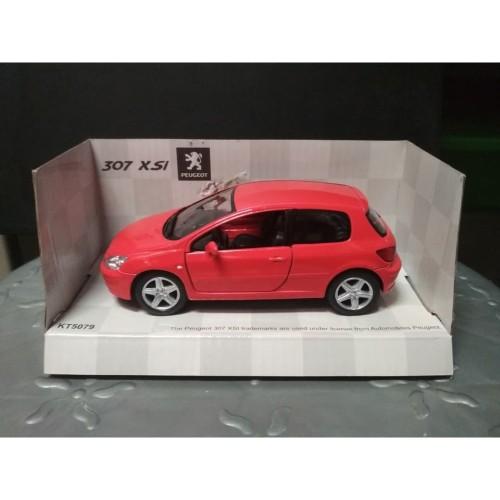Foto Produk Diecast Kinsmart Peugeot 307 XSI - Red dari YDIECKINS