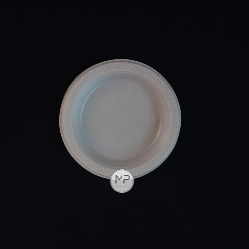Foto Produk Piring Plastik Kecil merk BSM (50pcs) dari Mandiri Plastik