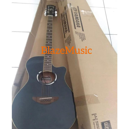 Foto Produk Gitar akustik Yamaha APX 500ii bonus tas dan senar - Hitam dari Blaze Music