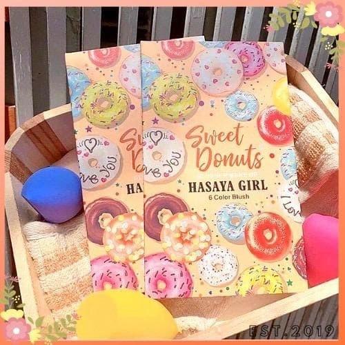 Foto Produk Hasaya Girl Sweet Donuts Blusher 6 warna dari startled.id