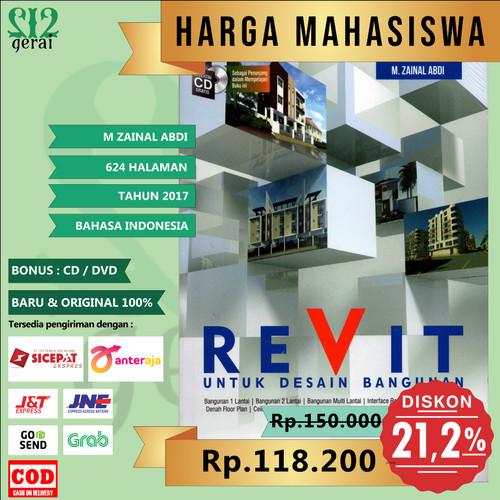 Foto Produk TERMURAH ORIGINAL Buku Revit Untuk Desain Bangunan Plus CD - M Zainal dari Gerai 212